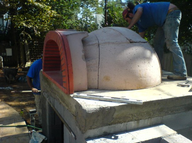 plans for a wood fired pizza oven