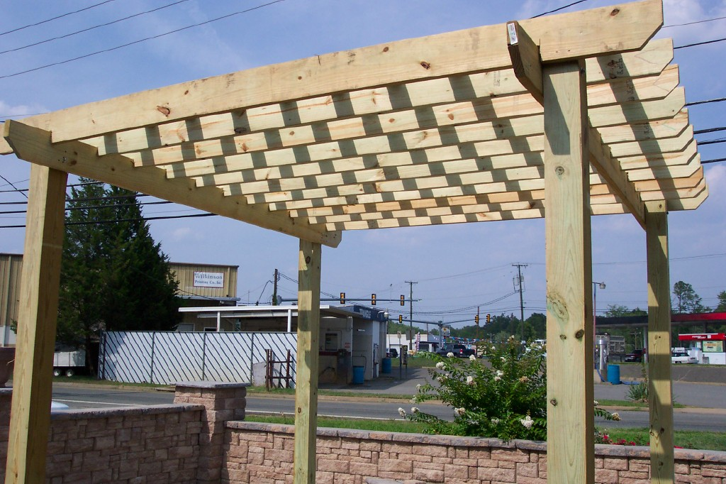How To Build A Pergola Ask The Landscape Guy