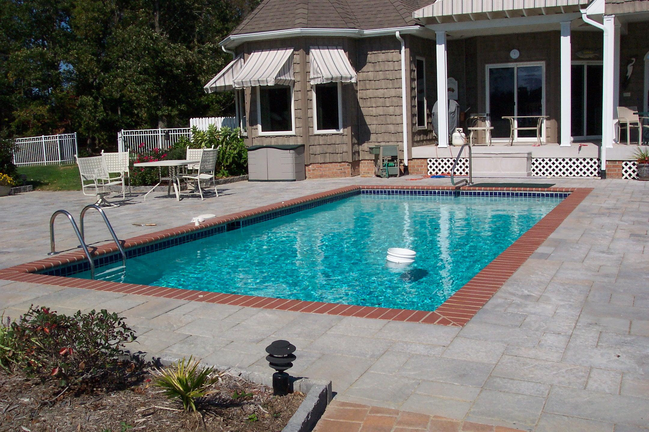 Slab Pool Deck. Concrete ...